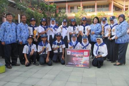 SMP Negeri 1 Sragen Memboyong 6 Medali Olimpiade PMR Se-Jawa Tengah