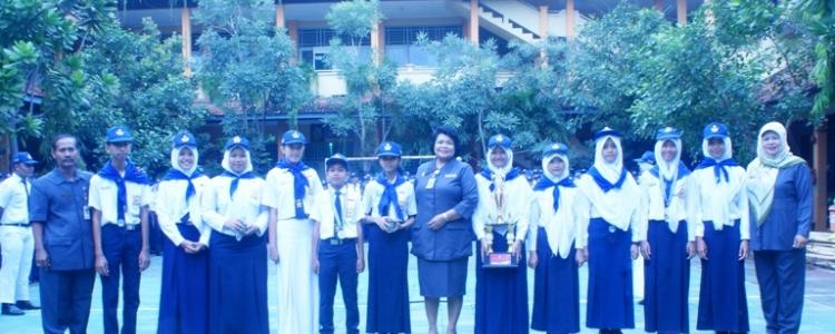 Juara Umum II dalam Lomba PMR se Pulau Jawa